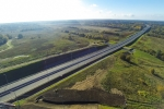 M-11 «Narva» Highway (km 16 – km 40), Ust-Luga commercial seaport access road (2014)