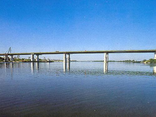The bridge over the Oka River at Kolomna (1987)