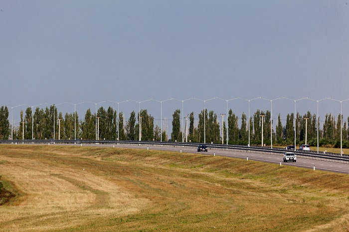 "Section of M-4 ""Don"" Highway  (km 517 - km 544), bypassing Novaya Usman and Rogachevka (2016)"