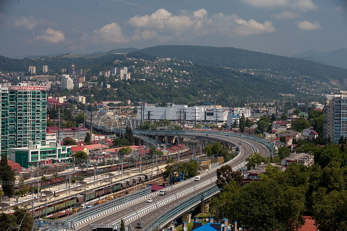Kurortny Avenue Relief Road in Sochi, phases 2 and 3 (2013)