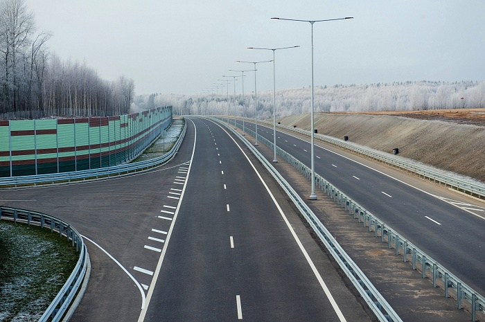 Section of M-11 «Moscow – St. Petersburg» Highway in Tver region (km 258 – km 334; Vyshny Volochek Bypass, 2011-2015)