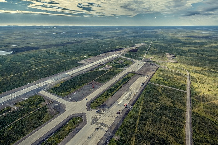 Norilsk Airport reconstruction (2018)
