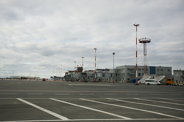 Ufa Airport, phases 1 and 2 (2015-2016)